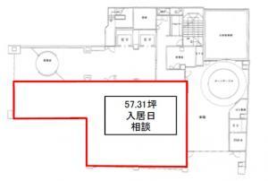 宇野ビルディング1階間取り図