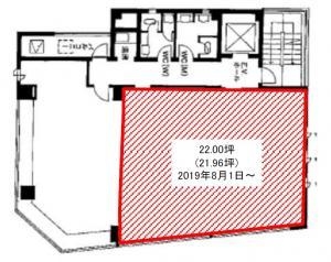 小池高麗橋ビル4階間取り図