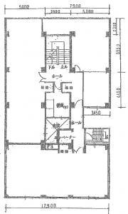柴田興産ビル(柴田第一ビル)基準階間取り図