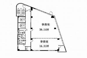 日本ライトハウスビル間取り図