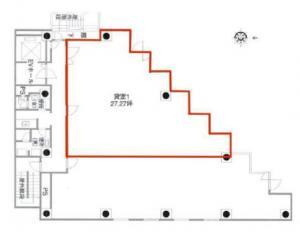 サムティ本町グランドビル9階間取り図