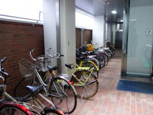 大阪司法ビル駐輪スペース
