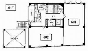 第一スエヒロビル6階間取り図