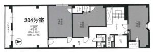 大阪文化会館ビル3階間取り図