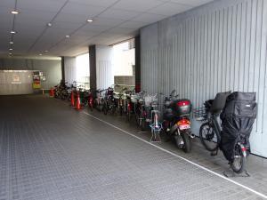 タカ大阪梅田ビル駐輪スペース