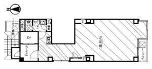 日光ビル基準階間取り図