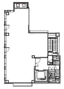ACN信濃橋ビル基準階間取り図