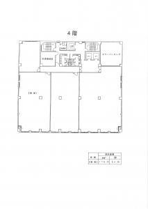 平野町センチュリービル4階間取り図