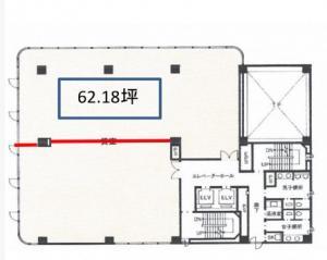 江坂三生ビル4階間取り図