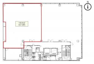 MID西本町ビル5階間取り図