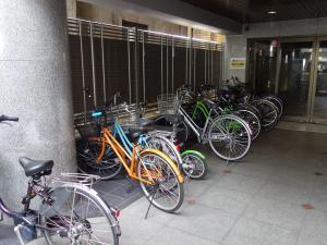 星和CITY BLD南久宝寺駐輪スペース