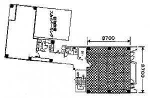 松和京橋第2・第3ビル2階間取り図