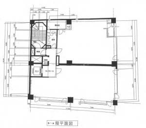 R&Eビル基準階間取り図