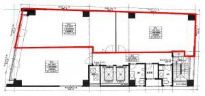 大明ビル3階間取り図