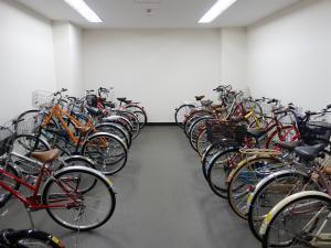 西天満パークビル3号館駐輪スペース