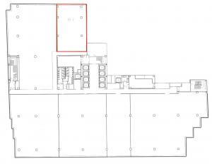 御堂筋本町ビル4階間取り図