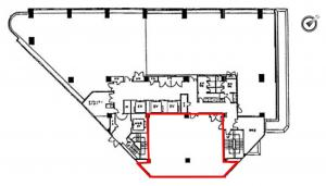 商業第二ビル(商業第2ビル)3階間取り図