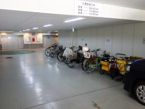 ナカイ農人橋ビル駐輪スペース