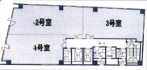 大明ビル基準階間取り図
