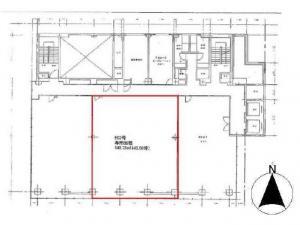 江坂ビル4階間取り図