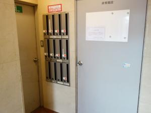 AXIS本町ビル別館郵便ポスト