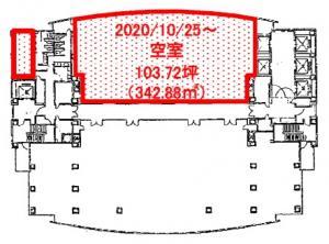 SORA新大阪21ビル12階間取り図