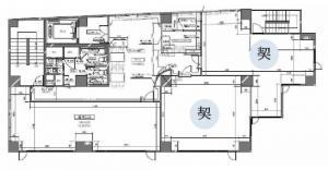 本町グラマシー2階間取り図