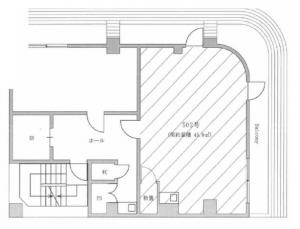 イーデザインビル(e-design bldg.)5階間取り図