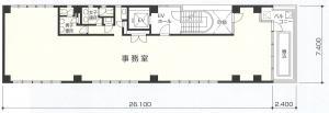 第2江坂ソリトンビル間取り図