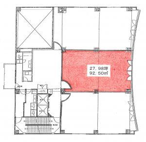 南新町エクセルビル(南新町EXCEL BLDG.)間取り図