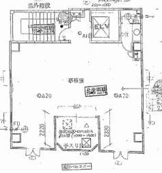 高麗橋田中ビル基準階間取り図