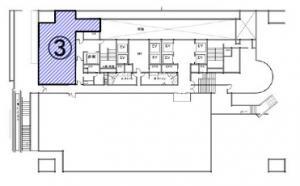 大阪第一生命ビルディング2階間取り図