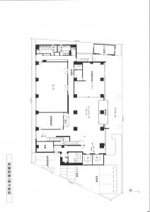 新大阪丸ビル別館基準階間取り図