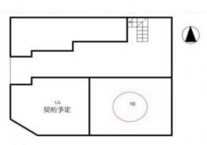 名城ビル1階間取り図