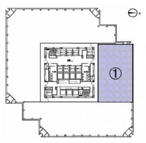 梅田センタービル6階間取り図