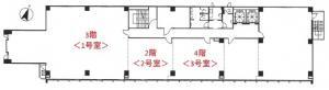 新栄ビル基準階間取り図