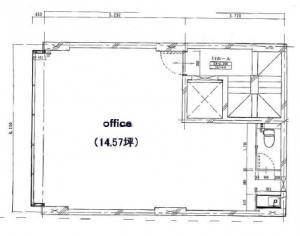 チェリーKビル3階間取り図