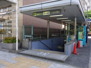 四ツ橋KMビル地下鉄出入口