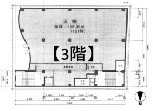 TESLA158(テスラ158)3階間取り図