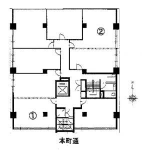 第7松屋ビル12階間取り図