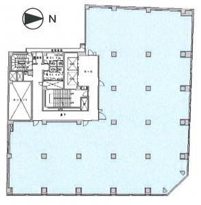 西天満パークビル3号館間取り図