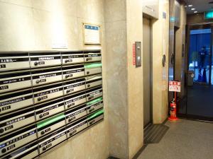YOTSUBASHI GTCビルエレベーター