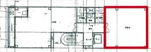 B-SPACEフクイビル基準階間取り図