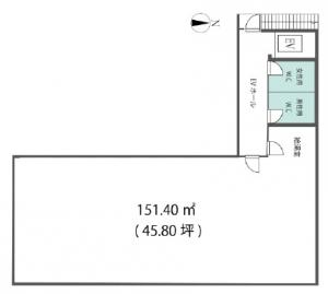 シンコービル基準階間取り図
