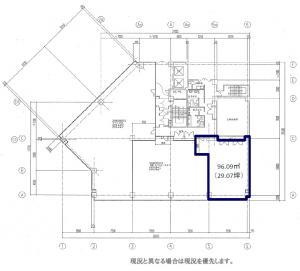 ナンバ辻本ビル3階間取り図