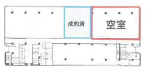 住友生命OBPプラザビル15階間取り図