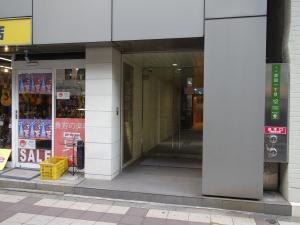 大栄ビル新館エントランス