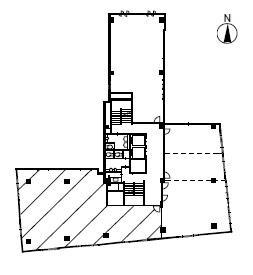 千代田第1ビル(千代田第一ビル)8階間取り図