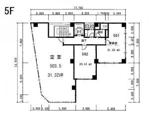 AUSビル5階間取り図