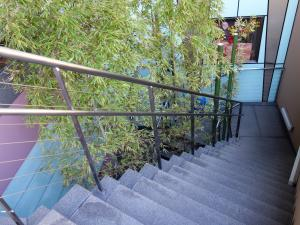 うつぼGIZAビル(うつぼギザビル)地下階段